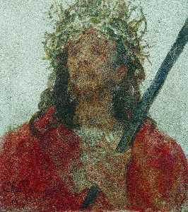Ilya Yefimovich Repin - Jesus in a crown of thorn..