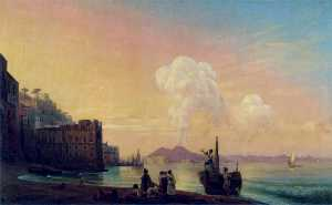 Ivan Aivazovsky - Bay of Naples
