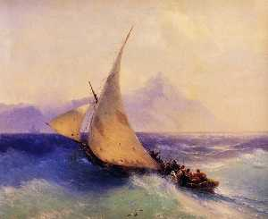 Ivan Aivazovsky - Rescue at Sea