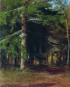 Ivan Ivanovich Shishkin - Study for the painting ''..