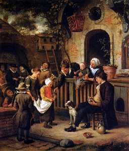 Jan Steen - Little collector