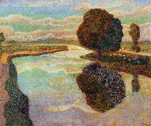Jean Theodoor Toorop - Landscape with canal