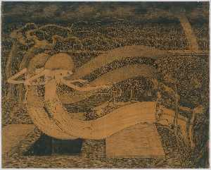 Jean Theodoor Toorop - O grave, where is thy Victory