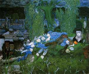 Jean Theodoor Toorop - The vagabonds