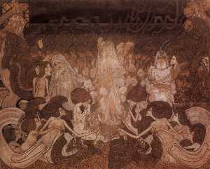 Jean Theodoor Toorop - The Three Fiancees