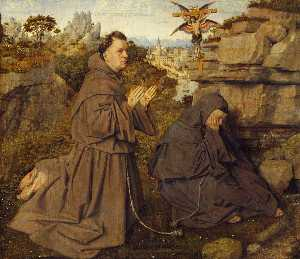 Jan Van Eyck - St. Francis Receiving the..