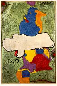 Jasper Johns - Green Angel