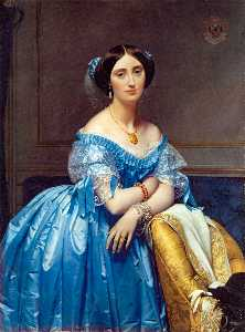Jean Auguste Dominique Ingres - Portrait of the Princesse de Broglie