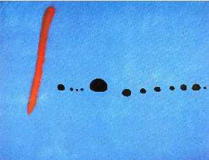 Joan Miro - Blue II