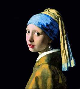 Jan Vermeer - The Girl with a Pearl Earring