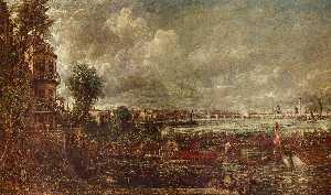 John Constable - The Opening of Waterloo B..