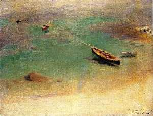 John Singer Sargent - Boat in the Waters off Capri