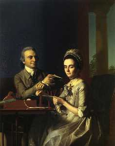 John Singleton Copley - Mr.and Mrs.Thomas Mifflin