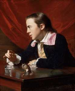 John Singleton Copley - Boy with Squirrel (Henry ..