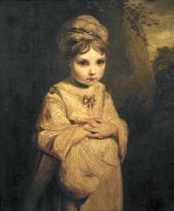Joshua Reynolds - The Strawberry Girl