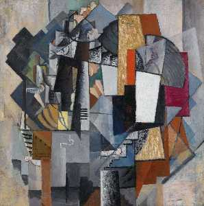 Kazimir Severinovich Malevich - Bureau and Room