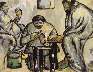 Kazimir Severinovich Malevich - Pedicurist in the Baths