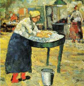 Kazimir Severinovich Malevich - Laundress