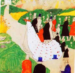 Kazimir Severinovich Malevich - The wedding