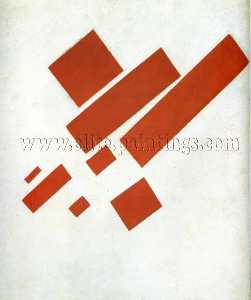 Kazimir Severinovich Malevich - Suprematism. Two Dimensional Self Portrait