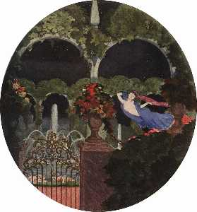 Konstantin Somov - Magic Garden (Night Visio..