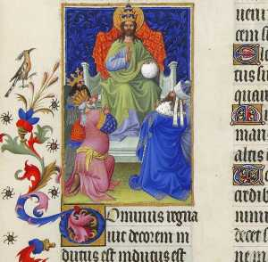 Limbourg Brothers - God Reigns Over All the E..
