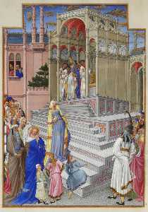Limbourg Brothers - The Purification of the V..