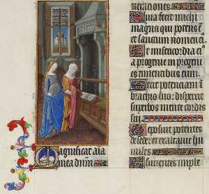 Limbourg Brothers - The Visitation