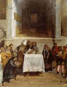 Lorenzo Lotto - The Presentation of Christ in the Temple
