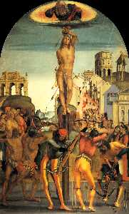 Luca Signorelli - The Martyrdom of St. Seba..