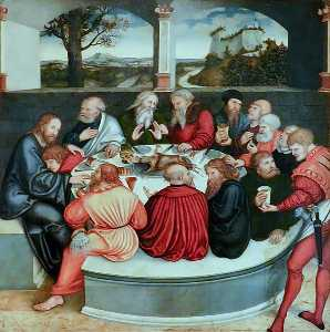 Lucas Cranach The Elder - The Last Supper