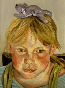 Lucian Freud - Alice and Okie