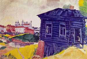 Marc Chagall - The Blue House