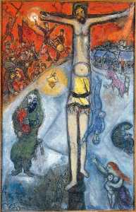 Marc Chagall - Resurrection