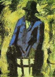 Mario Sironi - The blue jacket