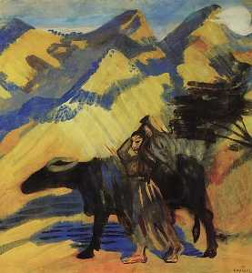 Martiros Saryan - To the spring
