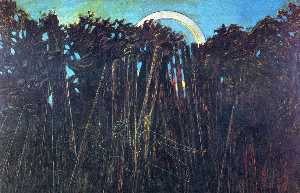 Max Ernst - The Embalmed Forest