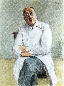 Max Liebermann - The Surgeon, Ferdinand Sa..