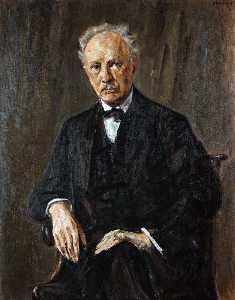 Max Liebermann - Portrait of Richard Strau..