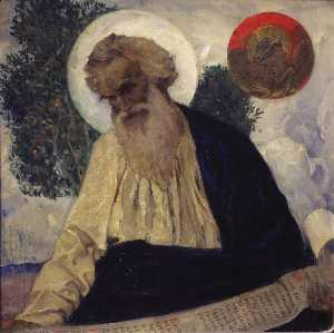 Mikhail Nesterov - St. Luke the Apostle