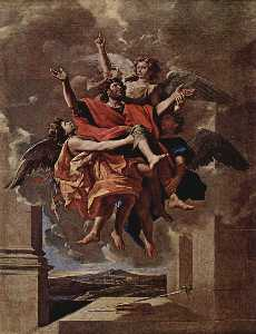 Nicolas Poussin - The Vision of St. Paul