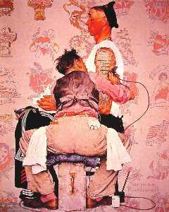 Norman Rockwell - The Tattooist