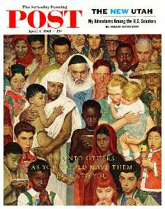 Norman Rockwell - The Golden Rule