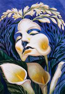 Octavio Ocampo - Ecstasy of the lillies