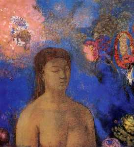 Odilon Redon - Closed Eyes