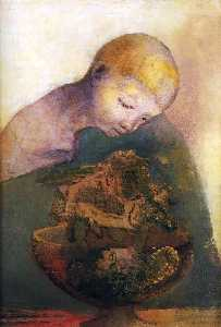 Odilon Redon - Cup of cognition (The Children-s Cup)