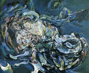 Oskar Kokoschka - Bride of the Wind