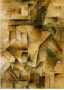 Pablo Picasso - Guitar player
