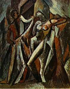 Pablo Picasso - Bathers Drying Themselves