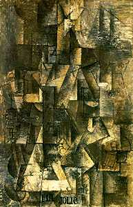 Pablo Picasso - My beautiful (Woman with guitar)